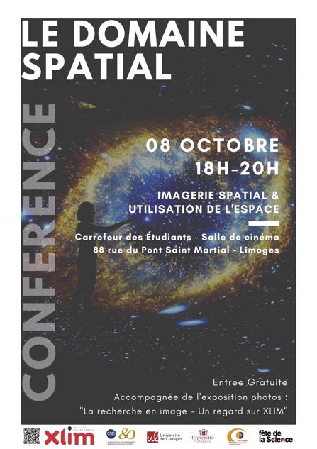 Limoges : Le domaine spatial