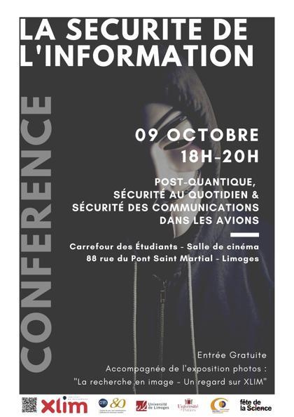 Limoges : La sécurité de l'information