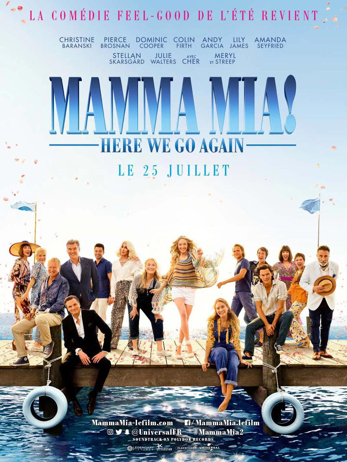 Limoges : Cinéma en plein air : Mamma Mia ! Here we go again