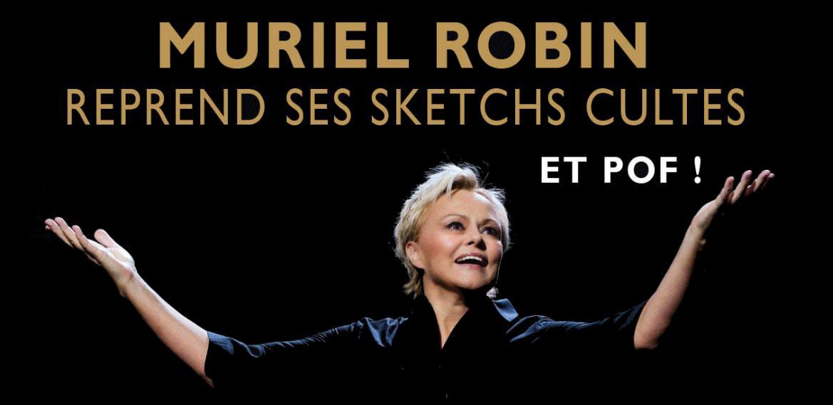 Limoges : Muriel Robin : Et Pof !