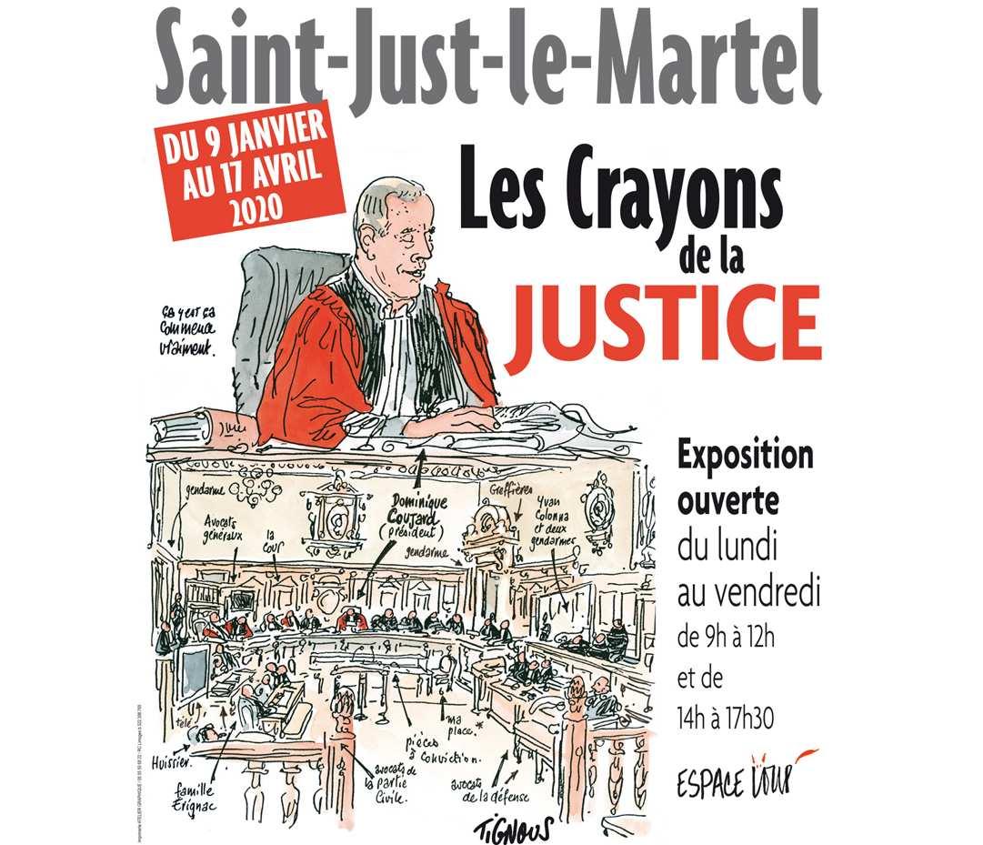 Limoges : Les crayons de la justice