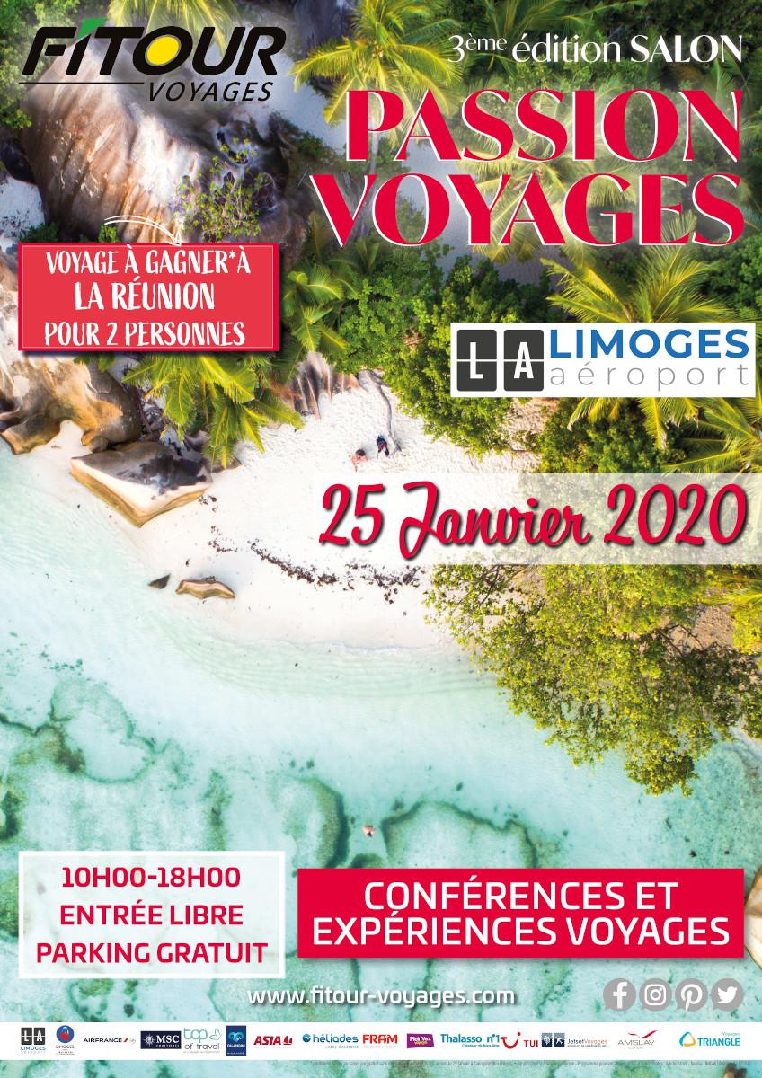 Limoges : Salon Passion Voyages - 3ème édition