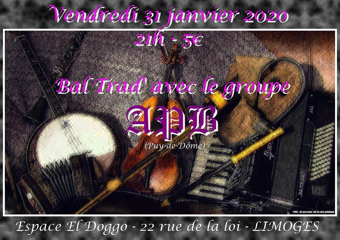 Limoges : Bal Trad au Doggo