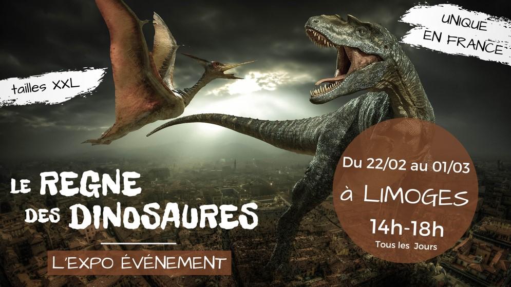 Limoges : Le règne des dinosaures