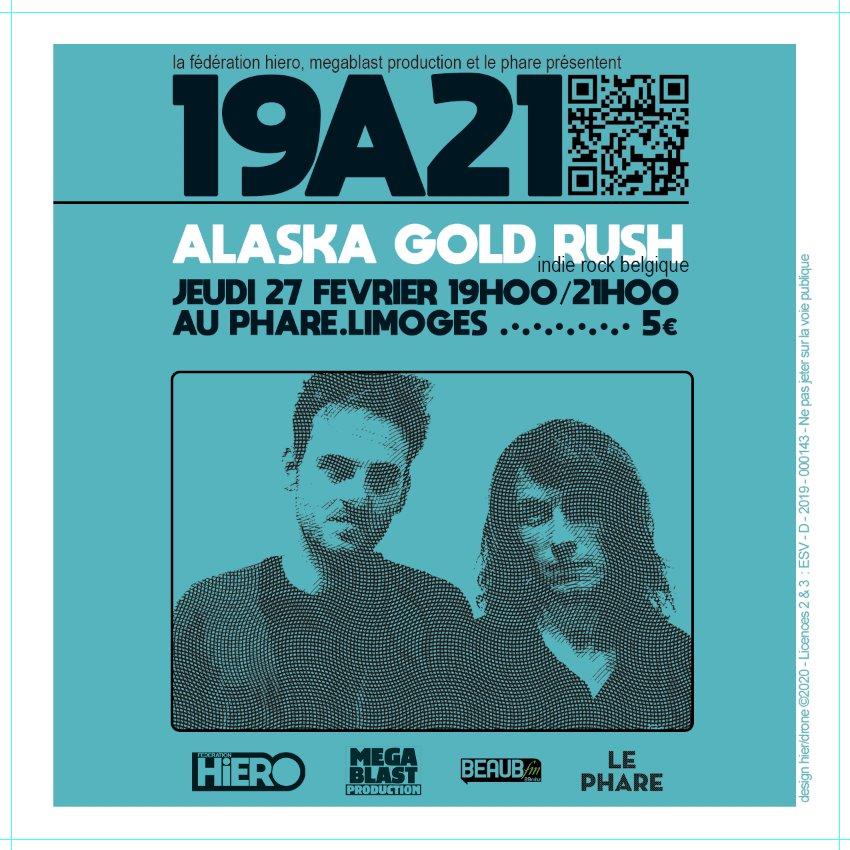 Limoges : Alaska Gold Rush