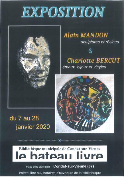 Limoges : Exposition : Alain Mandon et Charlotte Bercut