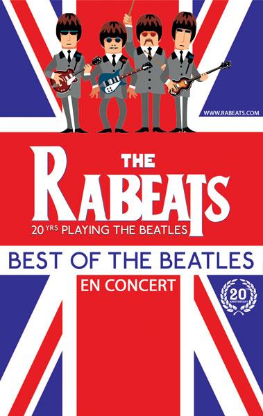 Limoges : The Rabeats : Hommage aux Beattles
