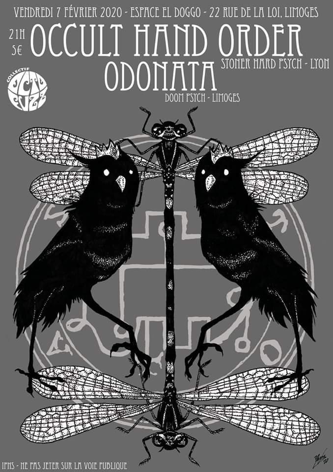 Limoges : Occult Hand Order + Odonata