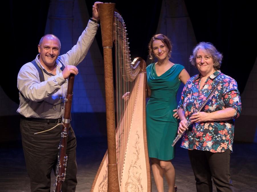 Limoges : Concert en trio : flûte, basson et harpe