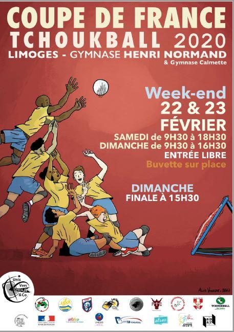 Limoges : Coupe de France de Tchoukball