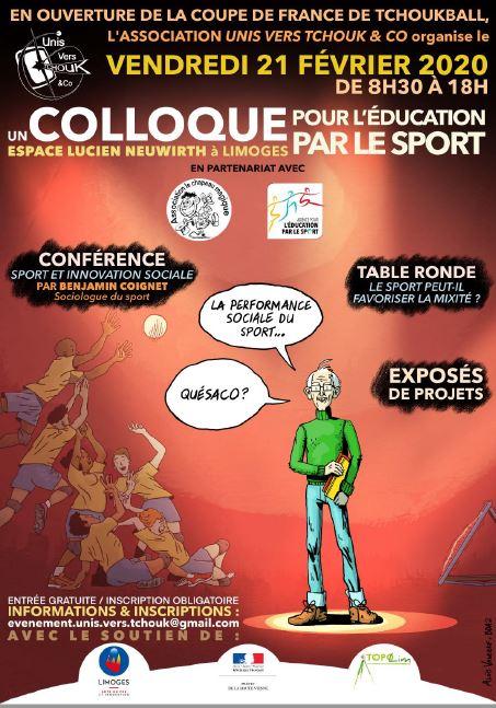 Limoges : Colloque pour l'éducation par le sport