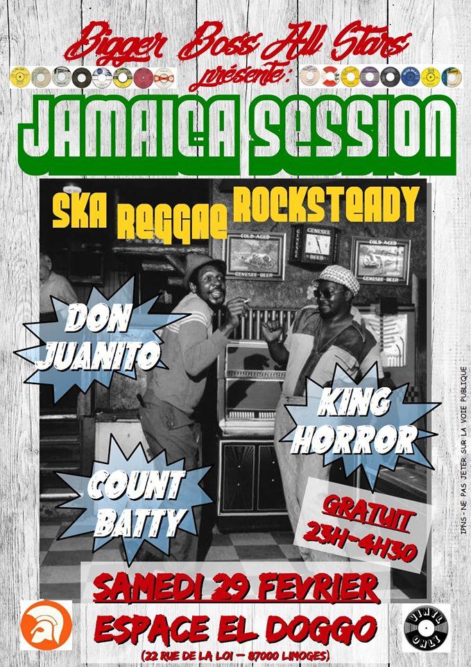 Limoges : Jamaica Session