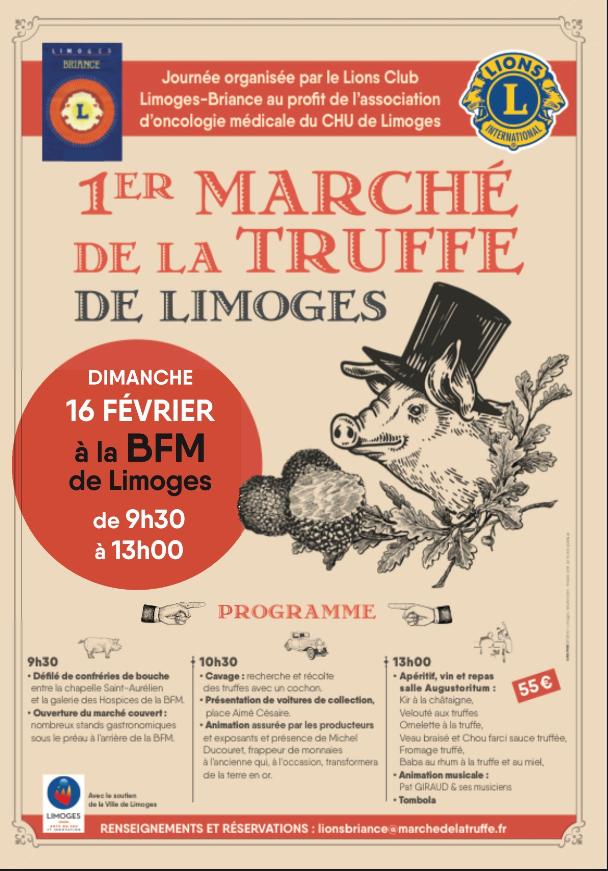 Limoges : 1er Marché de la truffe