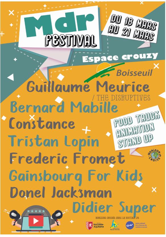 Limoges : MDR Festival : Frédéric Fromet