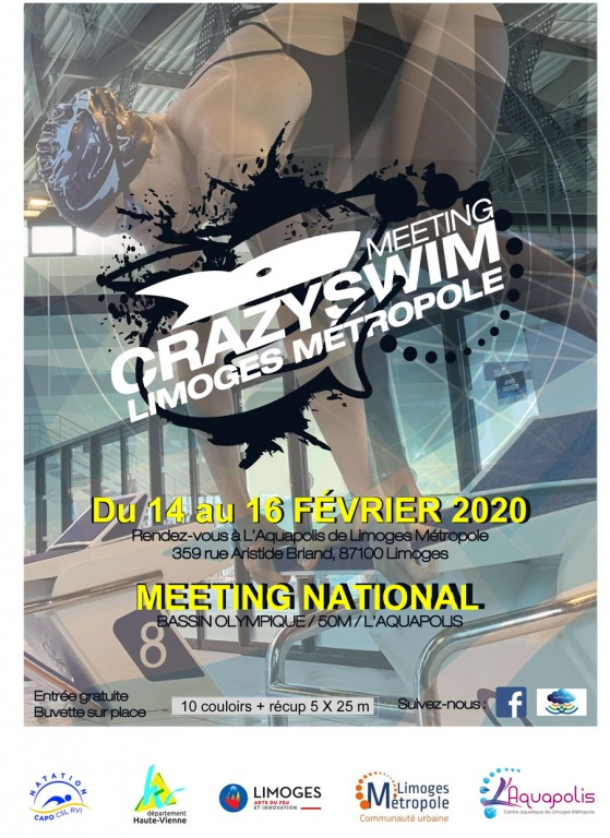 Limoges : Crazyswim