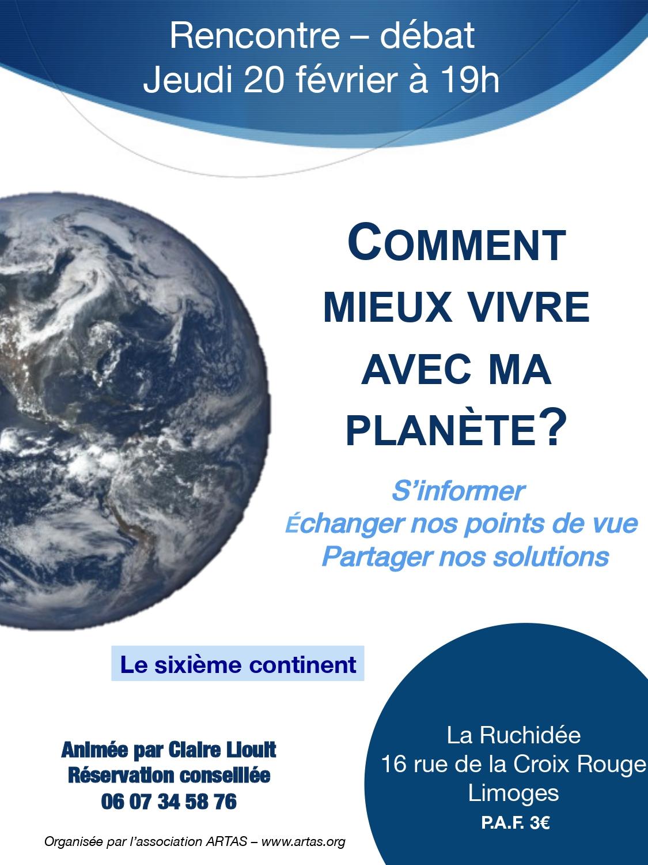 Limoges : Mieux vivre avec ma planète ?