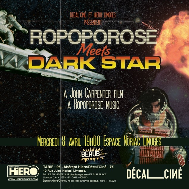 Limoges : ANNULE / Ropoporose meets Dark Star