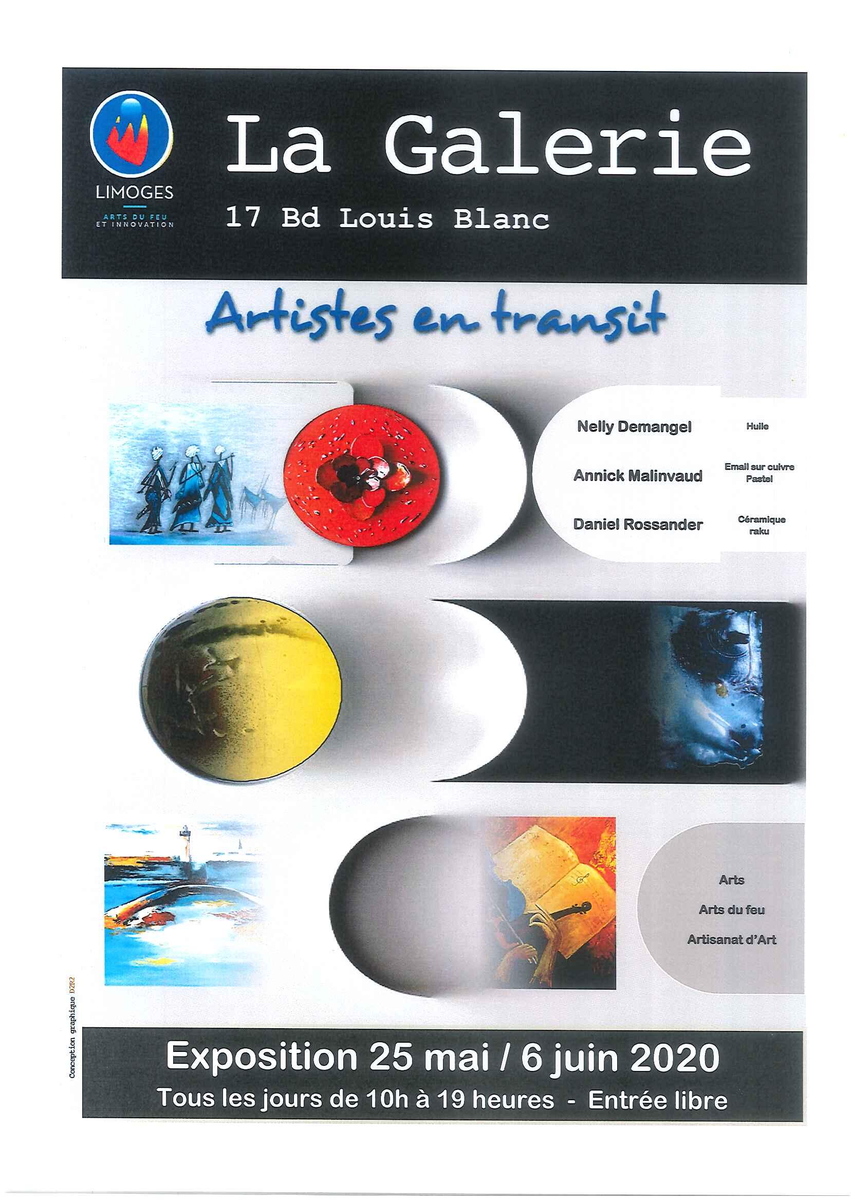 Limoges : Artistes en transit
