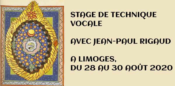 Limoges : Stage de chant et technique vocale