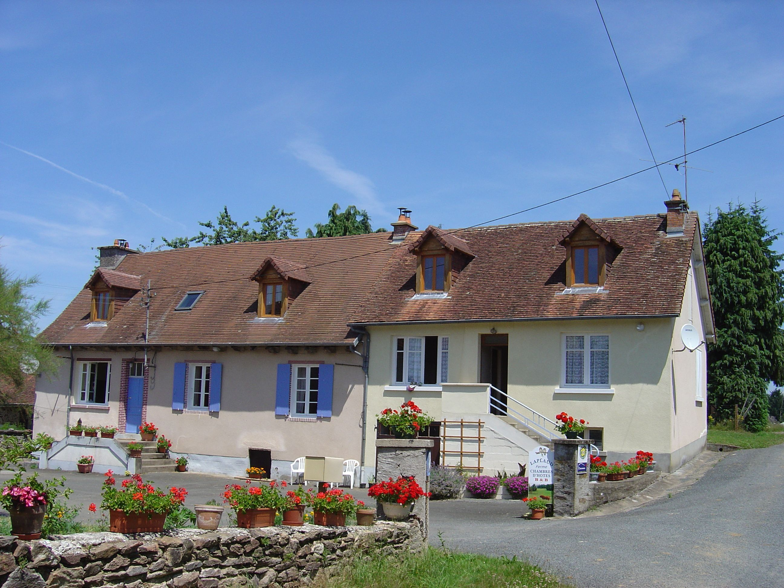 Chambres d'hôtes 'Laplaud Farmhouse'