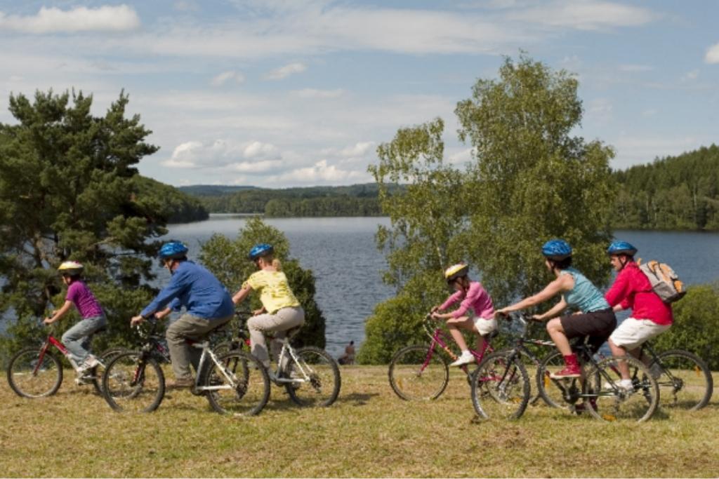 circuits de cyclotourisme autour de Magnac Laval