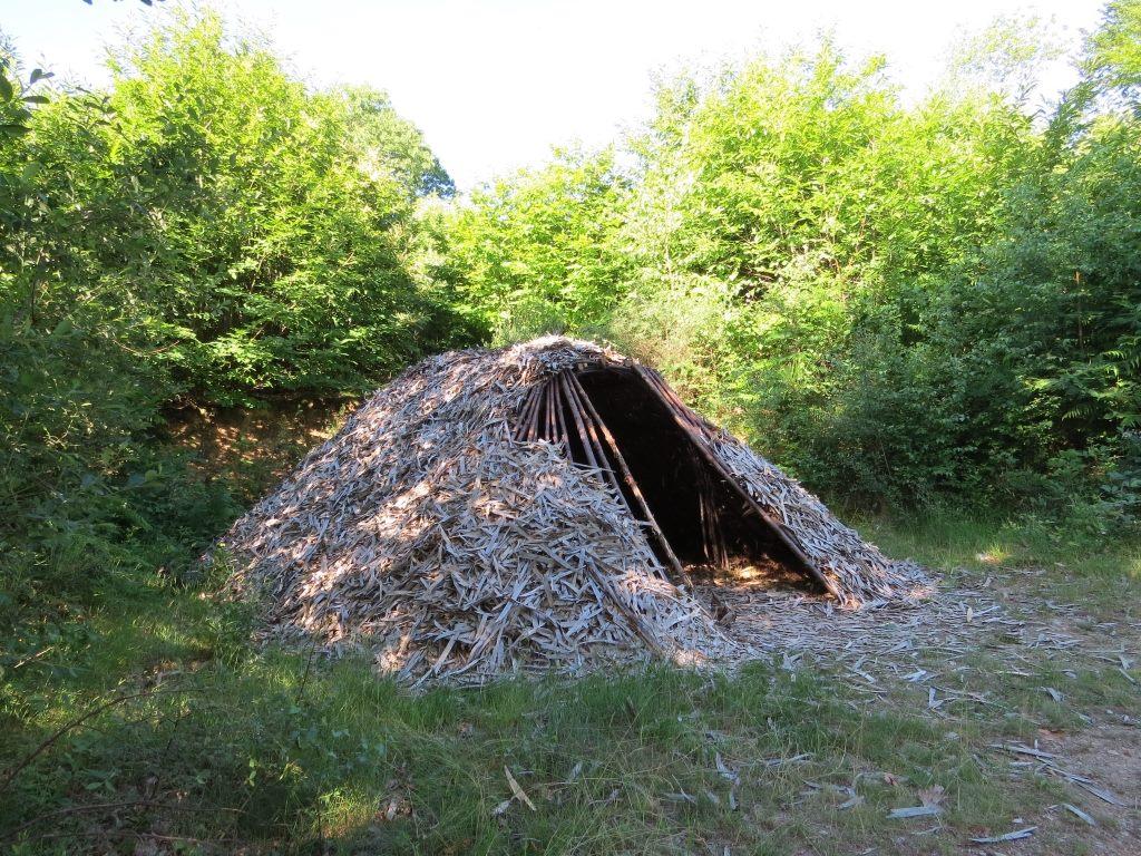 Cabane de feuillardiers