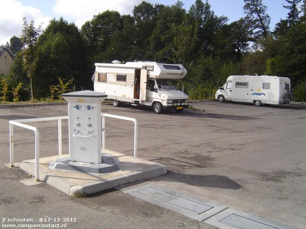Photo Aire d'accueil Camping-Cars- LA COURTINE