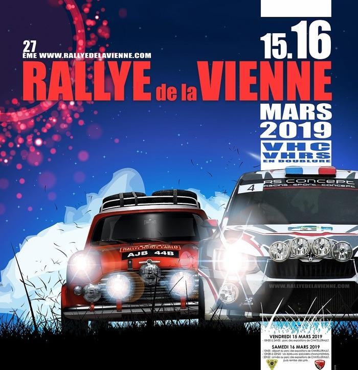 27ème Rallye de la Vienne - CHATELLERAULT
