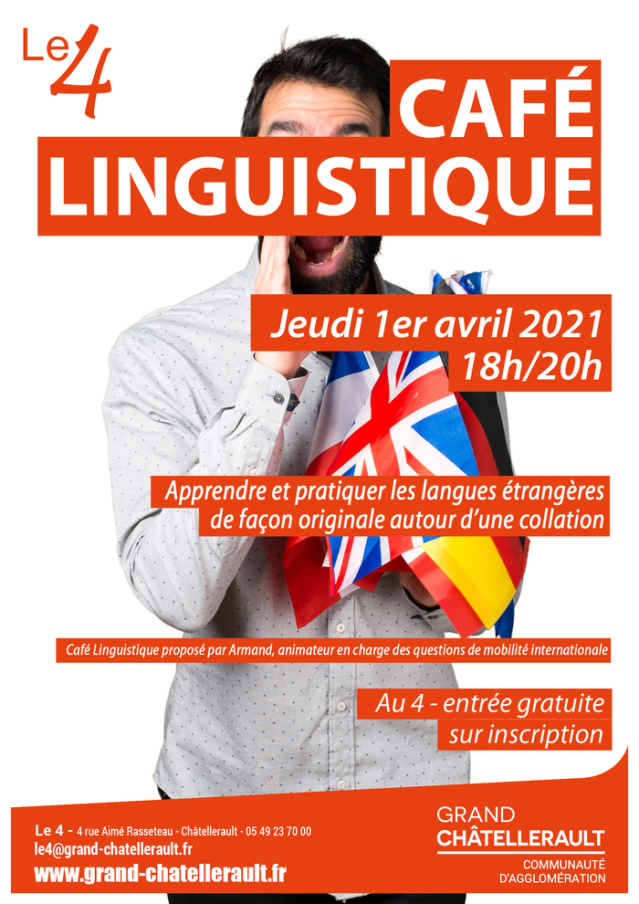 Café Linguistique - CHATELLERAULT