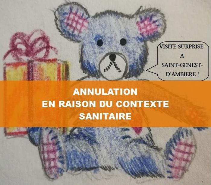 Visite surprise - SAINT-GENEST-D'AMBIERE
