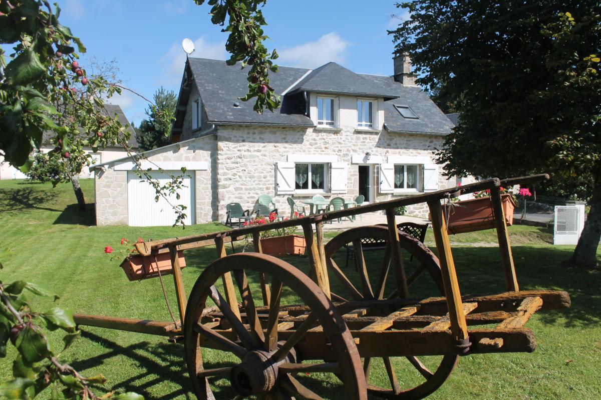 Photo Location Gîtes de France Au bonheur des Millevaches - Réf : 19G4022- BONNEFOND