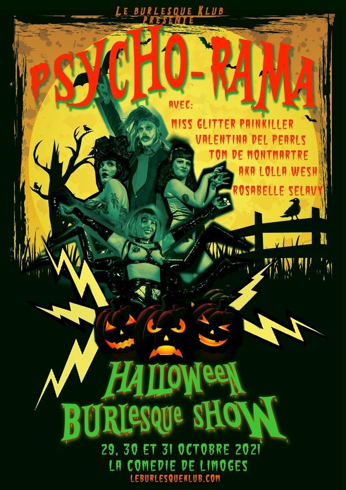 Limoges : Psycho-rama : Halloween Burlesque show