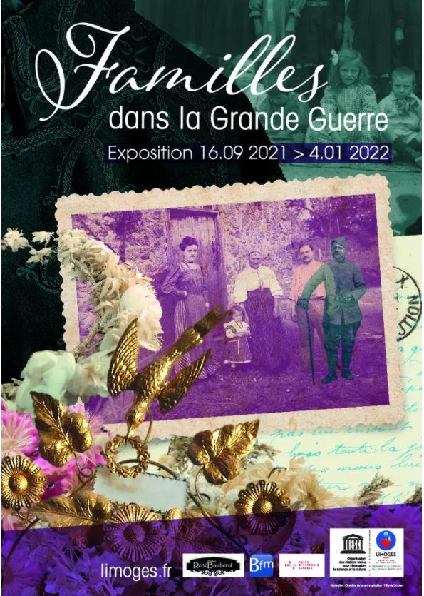 Limoges : Familles dans la Grande Guerre