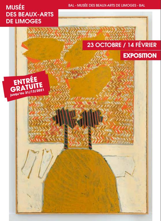 Limoges : Louttre. B : visite de l'exposition