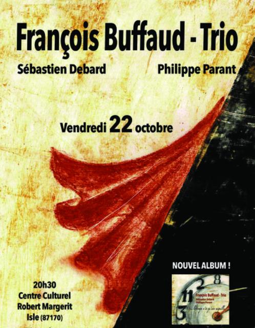 Limoges : Chanson - François Buffaud - Trio