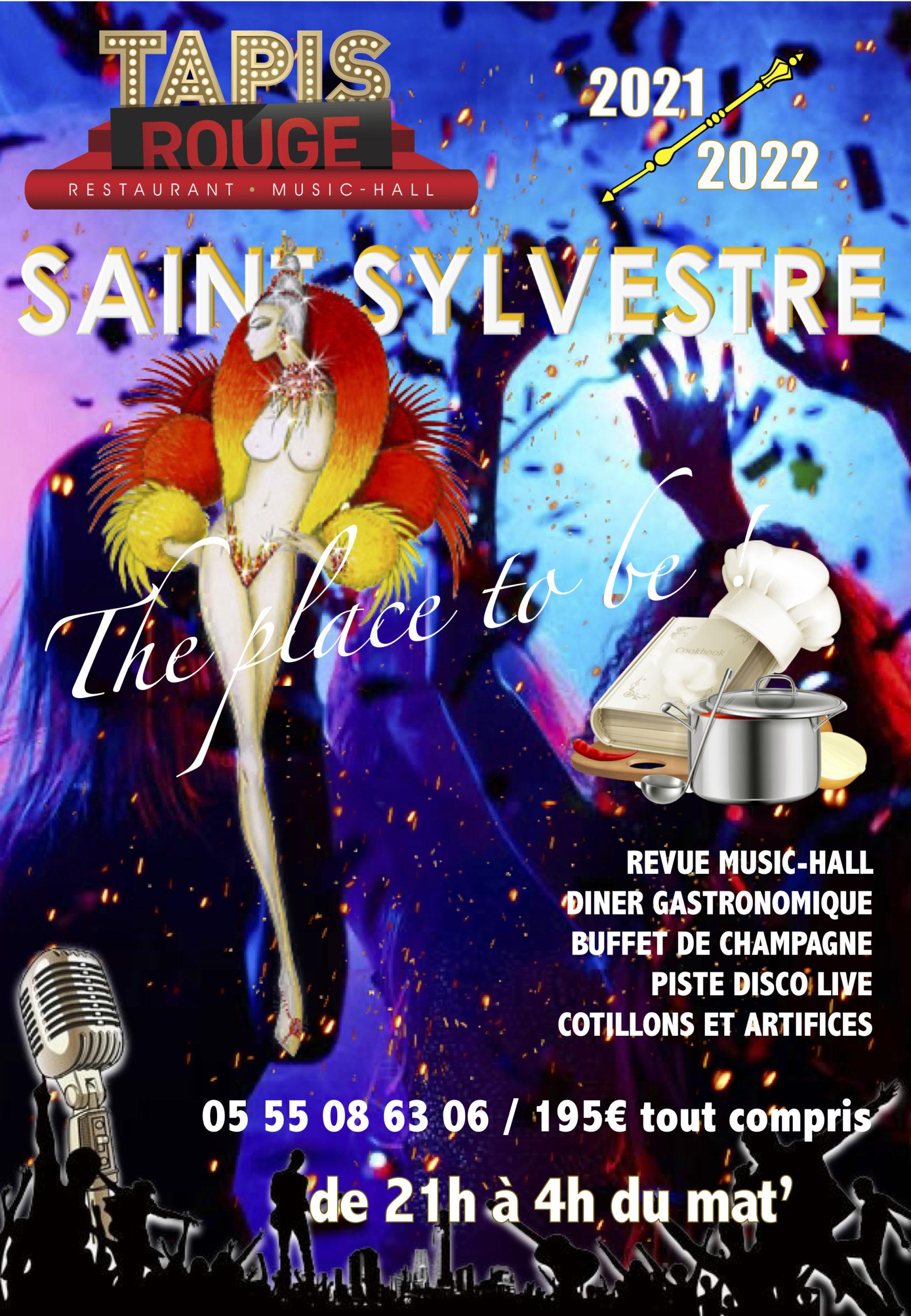 Limoges : Cabaret Tapis Rouge : Réveillon de la Saint Sylvestre